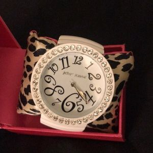 Oversized Betsey Johnson Bracelet Watch